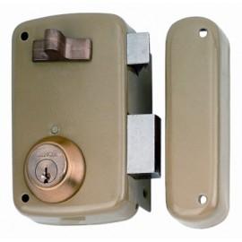 Cerradura Sobreponer 60X33Mm 5056Ahe60I Hierro Esmaltado Picaporte/Palanca Izquierda Lince