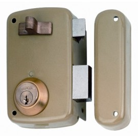 Cerradura Sobreponer 70X45Mm 5056Ahe70I Hierro Esmaltado Picaporte/Palanca Izquierda Lince