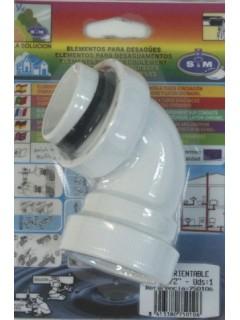 Codo Extraccion/Aire Orient 11/2 S M