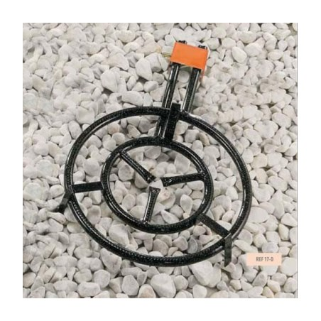 Paellero Gas Butano 2 Fuegos 50Cm Redondo H. M500
