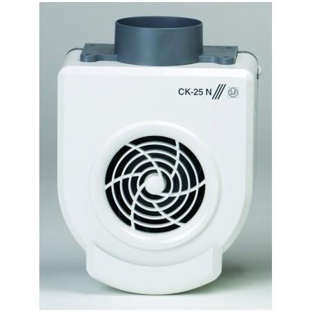 Extractor Cocina Centrifugo 250M3/H Bandeja Recogegrasa Plastico Ignifugo Blanco S P