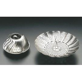 Cesto Cocina Vapor 14-23Cm Inox Metaltex