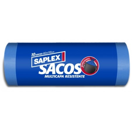 Saco Basura 80X110Cm Plastico Ne Multicapa Resistente SaPlasticoex 10 Pz