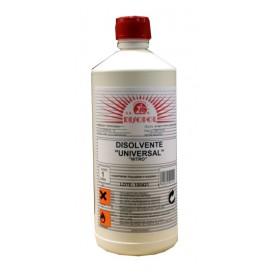 Disolvente Limpieza  Universal  Envase Plastico Nitro Disopol 1 Lt