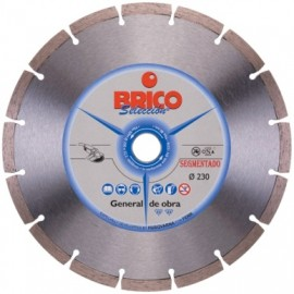 Disco Corte Seco Sinterizado 230 Mm Diamante  Brico