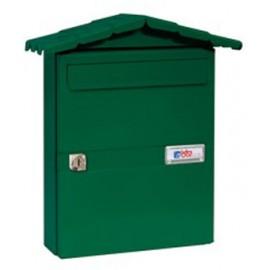 Buzon Exterior Btv Acero Verde Chalet 02101