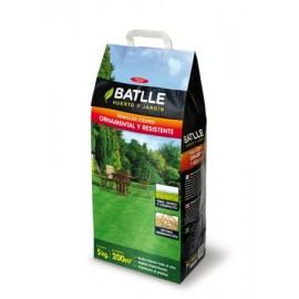 Semilla Cesped Resistente Batlle Ornamental  051306K5 5 Kg