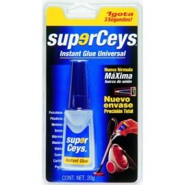 Adhesivo Instantaneo 20 Gr Universal Superceys Ceys