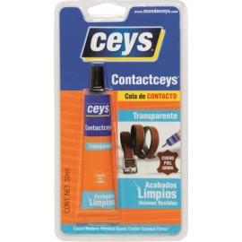 Cola Contacto Multiusos 30 Ml Tra Contaceys Ceys