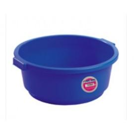 Barreño Agua 40 Lt Redondo Tes Plastico Azul Bajo 56X22Cm 6540L
