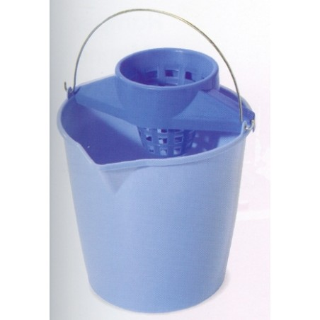 Cubo Agua 13 Lt Con Escurridor Tes 6213L