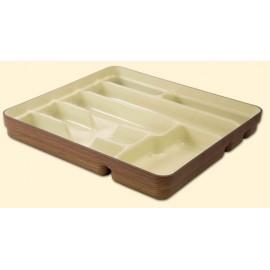 Portacubierto Cocina 7 Compartimentos Madera Denox