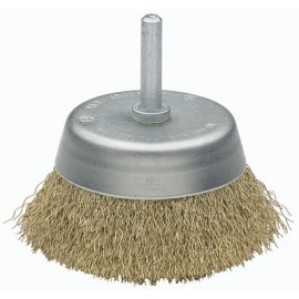 Cepillo Industrial Taza Taladro 075 Mm / 0,3 Mm Acero/Latonado Bellota