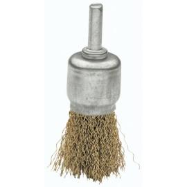 Cepillo Industrial Brocha Taladro 025 Mm Acero/Latonado Bellota