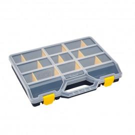 Estuche Clasificador  378X290X61Mm 21Separadores Moviles Polipropileno Azul 46-26 Tayg