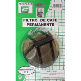 Filtro Cafe Permanente Met.alTecnhogar