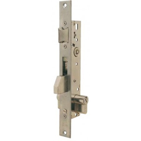 Cerradura Metalica Embutir 22X25Mm 221125Ai Inox Palanca Deslizante Tesa