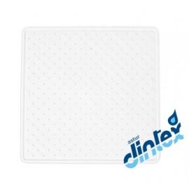 Alfombra Baño Antideslizante 54X54Cm Ducha Blanco Donaplus
