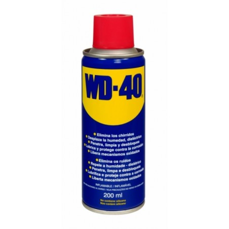 Aceite Lubricante Multiusos Spray Wd-40 200 Ml