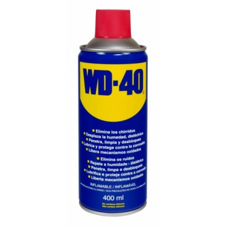 Aceite Lubricante Multiusos Spray Wd-40 400 Ml