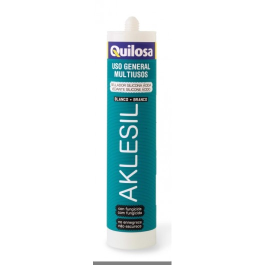 Silicona Acida Uso General 280 Ml Tr. C/Fung Aklesil Quilosa