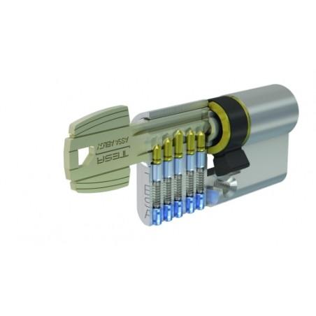 Cilindro 30X50Mm 52003050N Niquel  Leva Corta Tesa
