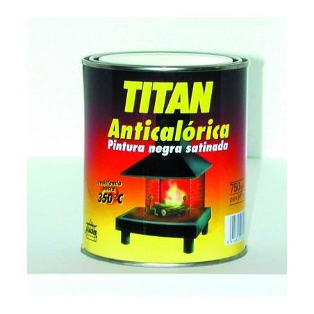 Pintura Anticalorica Satinado 375 Ml Negro Titan