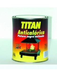 Pintura Anticalorica Satinado 750 Ml Negro Titan
