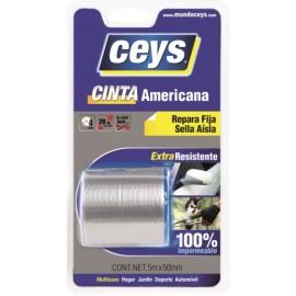 Cinta Adhesiva 50Mmx  5Mt Americana Plata Tack Ceys Ceys