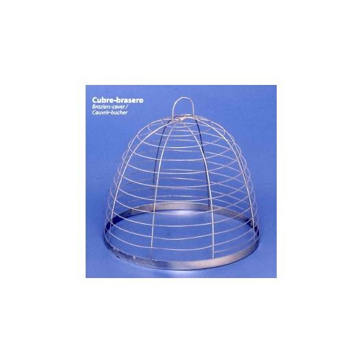 Cubre-Brasero Ovalado 30Cm Metal Wamja