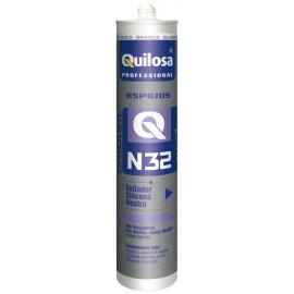 Silicona Neutra Espejos 300 Ml Tr. Orbasil N-32 Quilosa