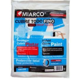 Plastico Protector 4 Mt X 05 Mt Fino Cubretodo Miarco