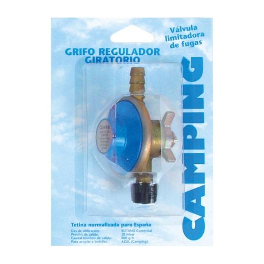 Grifo Camping  28 Gr Regulador Butsir Gas Giratorio Repu0002