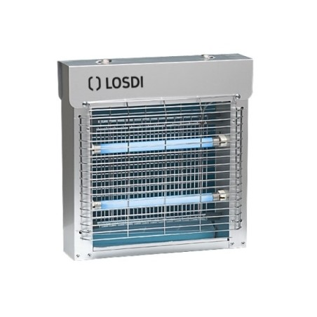 Mata-Insectos 2X11W Electrico Losdi Alu Ci 2X11A