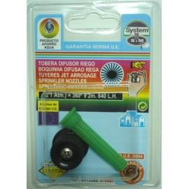 Difusor Riego 0º A 360º Goteo S M Pp Regulable Tobera 570087