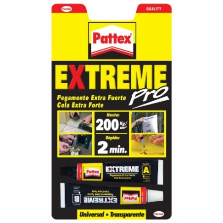 Adhesivo Bicomponente 22 Ml Exxtreme Pattex