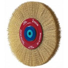 Cepillo Industrial Circular Multieje 150X0,3 Mm Acero/Latonado Fecin