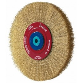 Cepillo Industrial Circular Multieje 200X0,3 Mm Acero/Latonado Fecin