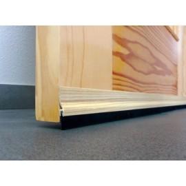Burlete Bajo Puerta 092Cm Adhesivo Cepillo Aluminio Pino Burcasa