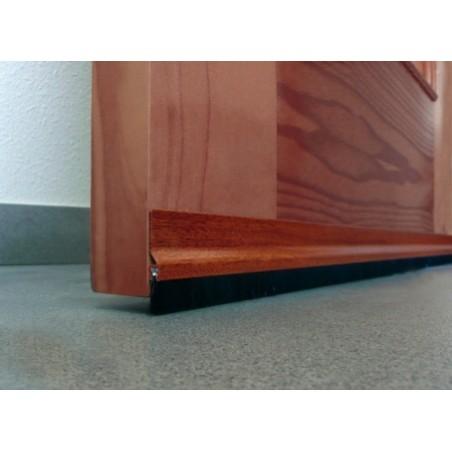 Burlete Bajo Puerta 092Cm Adhesivo Cepillo Aluminio Sapelly Burcasa