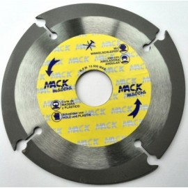 Disco Corte Tronzador Madera  125 Mm Macodiam