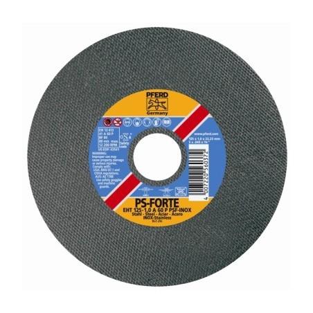 Disco Corte Inox 115X1,0Mm  A60 Eht Pferd