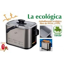 Freidora Electrica 1Lt 1000W Metal Frr-326E Jata