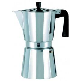 Cafetera Italiana 06Tazas Aluminio New Vitro Oroley