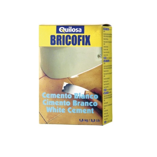Cemento Restauracion 1,5 Kg Blanco Bricofix Quilosa