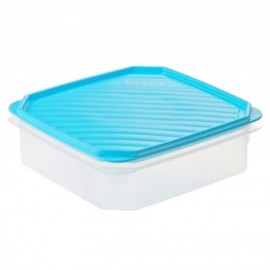 Hermetico Alimentos Cuadrado 1,3Lt Azul PlasticoTatay