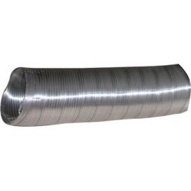 Tubo Extraccion/Aire 100Mmx1Mt Comp. Aalu Alum Alu Espir Espirof 1 M
