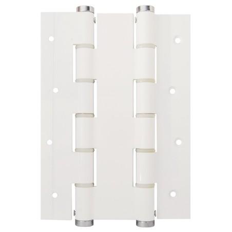 Bisagra Puerta Vaiven Doble Accion 180X40Mm 5914.06 Inox Blanco Justor 2 Pz