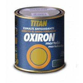 Esmalte Antioxidante Martele 750 Ml Gris Exterior Oxiron Titan