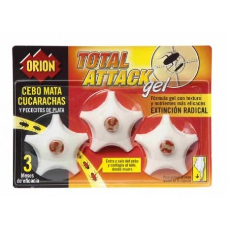 Cebo Cucarachas Orion 3180131802 3 Pz
